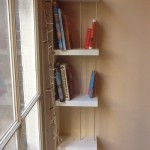 Boekenkast, MDF, aluminium